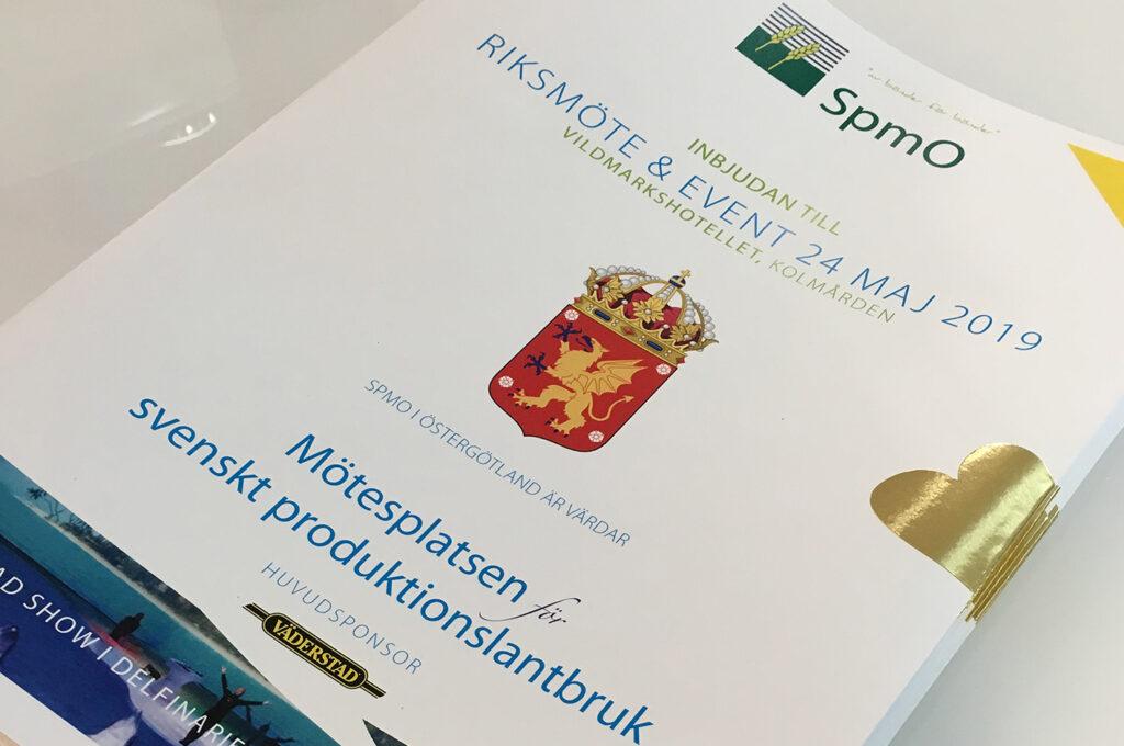 Nu är inbjudan till SpmO Riksmöte 2019 ute!